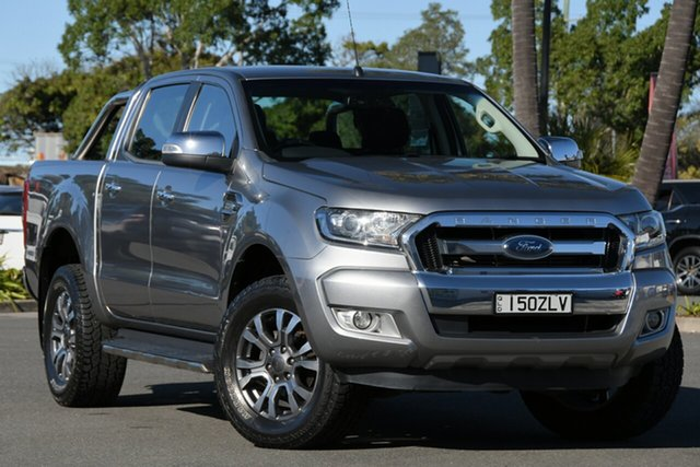 Used Ford Ranger PX MkII XLT Double Cab North Lakes, 2015 Ford Ranger PX MkII XLT Double Cab Silver 6 Speed Sports Automatic Utility