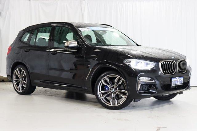 Used BMW X3 G01 M40i Steptronic Wangara, 2019 BMW X3 G01 M40i Steptronic Black 8 Speed Automatic Wagon