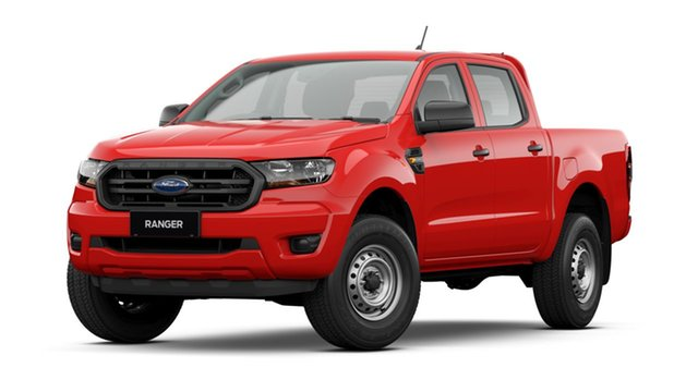 New Ford Ranger PX MkIII 2021.75MY XL Ebbw Vale, 2021 Ford Ranger PX MkIII 2021.75MY XL True Red 6 Speed Sports Automatic Double Cab Pick Up