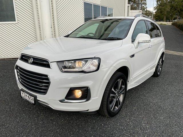 Used Holden Captiva CG MY18 LTZ AWD Maitland, 2017 Holden Captiva CG MY18 LTZ AWD White 6 Speed Sports Automatic Wagon