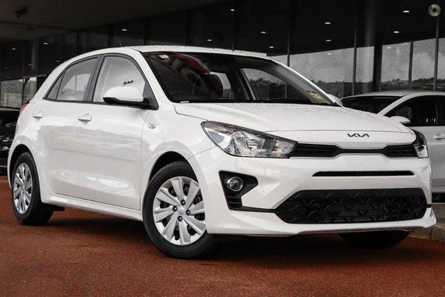 New Kia Rio YB MY22 S Reynella, 2021 Kia Rio YB MY22 S White 6 Speed Automatic Hatchback