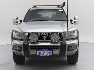 2008 Toyota Landcruiser Prado KDJ120R 07 Upgrade GXL (4x4) Silver 5 Speed Automatic Wagon.