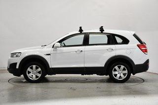 2014 Holden Captiva CG MY14 7 LS White 6 Speed Sports Automatic Wagon.