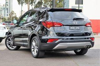 2017 Hyundai Santa Fe DM3 MY17 Highlander Phantom Black 6 Speed Sports Automatic Wagon.