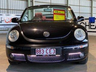 2006 Volkswagen Beetle 1Y MY2006 Black 6 Speed Sports Automatic Cabriolet.