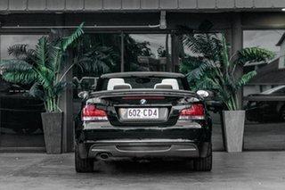 2008 BMW 120i E88 120i Black 6 Speed Automatic Convertible