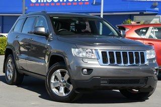 2012 Jeep Grand Cherokee WK MY2012 Laredo Grey 5 Speed Sports Automatic Wagon.