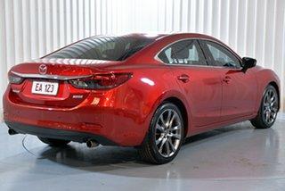 2014 Mazda 6 GJ1031 Atenza SKYACTIV-Drive Red 6 Speed Sports Automatic Sedan