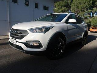 2017 Hyundai Santa Fe DM5 MY18 Active X 2WD White 6 Speed Sports Automatic Wagon.