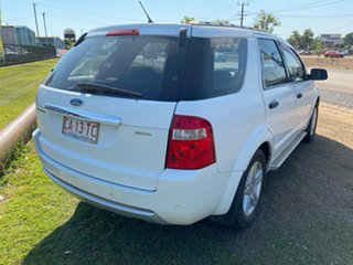 2008 Ford Territory SY Ghia White 4 Speed Sports Automatic Wagon