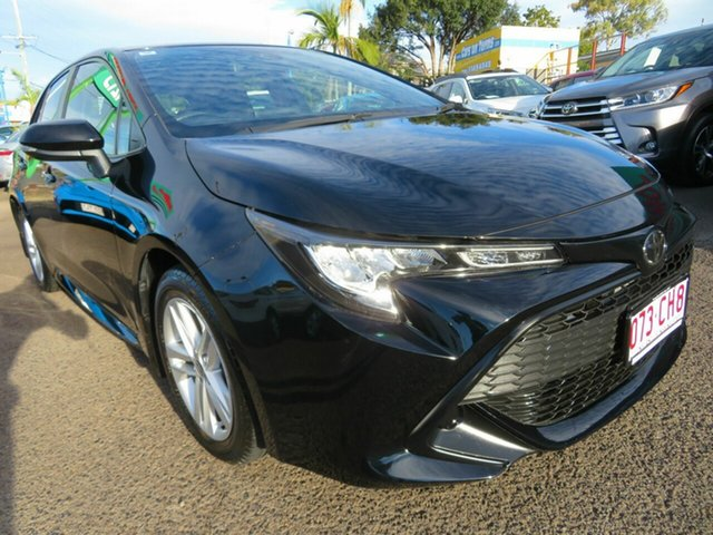 Used Toyota Corolla Mzea12R Ascent Sport Mount Gravatt, 2018 Toyota Corolla Mzea12R Ascent Sport Black 10 Speed Constant Variable Hatchback