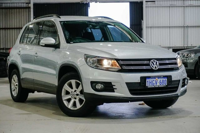 Used Volkswagen Tiguan 5N MY14 132TSI DSG 4MOTION Pacific Osborne Park, 2014 Volkswagen Tiguan 5N MY14 132TSI DSG 4MOTION Pacific Silver 7 Speed