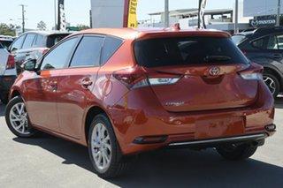 2017 Toyota Corolla ZRE182R Ascent S-CVT Orange 7 Speed Constant Variable Hatchback.