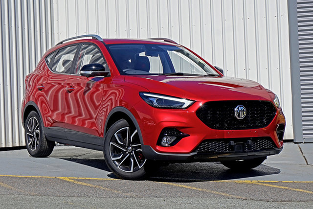 New MG ZST MY21 Essence Springwood, 2021 MG ZST MY21 Essence Red 6 Speed Automatic Wagon