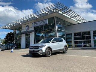 2021 Volkswagen T-Cross C1 MY21 85TSI DSG FWD Life Silver 7 Speed Sports Automatic Dual Clutch Wagon.