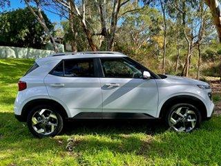 2021 Hyundai Venue QX.V3 MY21 Elite (Sunroof) Polar White 6 Speed Automatic Wagon.