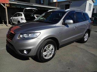 2011 Hyundai Santa Fe CM MY10 Elite CRDi (4x4) Silver 6 Speed Automatic Wagon