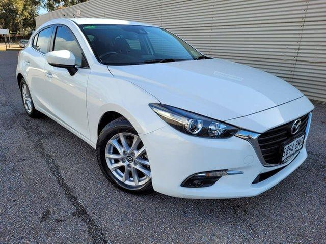 Used Mazda 3 BN5478 Maxx SKYACTIV-Drive Elizabeth, 2016 Mazda 3 BN5478 Maxx SKYACTIV-Drive White 6 Speed Sports Automatic Hatchback