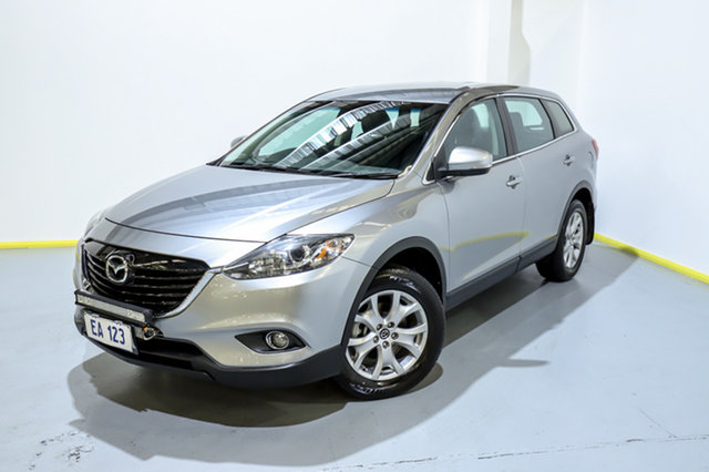 Used Mazda CX-9 TB10A5 Classic Activematic Canning Vale, 2015 Mazda CX-9 TB10A5 Classic Activematic Silver 6 Speed Sports Automatic Wagon