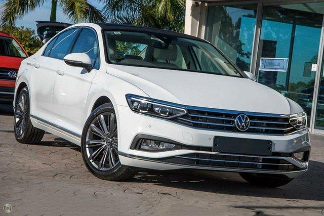 New Volkswagen Passat 3C (B8) MY21 162TSI DSG Elegance Botany, 2021 Volkswagen Passat 3C (B8) MY21 162TSI DSG Elegance White 6 Speed Sports Automatic Dual Clutch