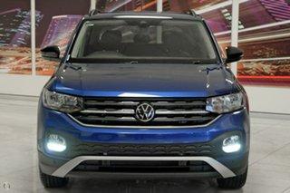 2021 Volkswagen T-Cross C1 MY21 85TSI DSG FWD CityLife Blue 7 Speed Sports Automatic Dual Clutch.