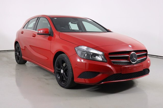 Used Mercedes-Benz A180 176 MY15 BE Bentley, 2015 Mercedes-Benz A180 176 MY15 BE Red 7 Speed Automatic Hatchback