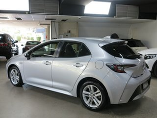 2019 Toyota Corolla ZWE211R Ascent Sport E-CVT Hybrid Silver 10 Speed Constant Variable Hatchback