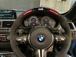 2016 BMW M4 F83 Competition M-DCT Blue 7 Speed Sports Automatic Dual Clutch Convertible
