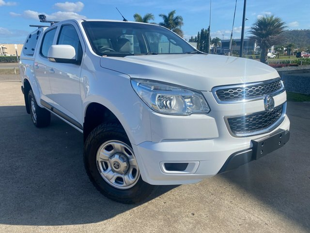 Used Holden Colorado RG MY16 LS Crew Cab Townsville, 2016 Holden Colorado RG MY16 LS Crew Cab White/110716 6 Speed Sports Automatic Utility
