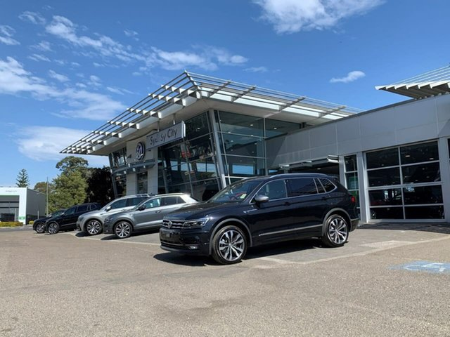 New Volkswagen Tiguan 5N MY21 162TSI Highline DSG 4MOTION Allspace Botany, 2021 Volkswagen Tiguan 5N MY21 162TSI Highline DSG 4MOTION Allspace Black 7 Speed