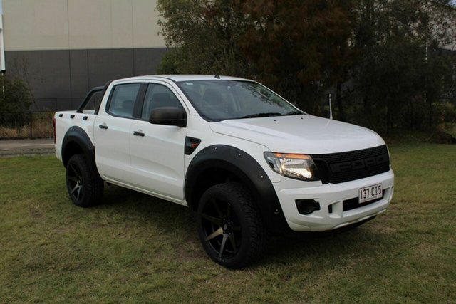 Used Ford Ranger PX MkII XL Ormeau, 2015 Ford Ranger PX MkII XL White 6 Speed Sports Automatic Utility