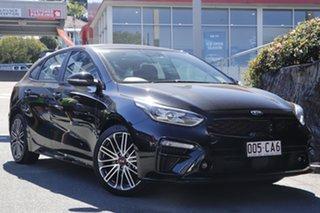 2020 Kia Cerato BD MY21 GT DCT Aurora Black 7 Speed Sports Automatic Dual Clutch Hatchback.