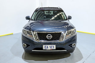 2015 Nissan Pathfinder R52 MY15 ST-L X-tronic 4WD Blue 1 Speed Constant Variable Wagon.