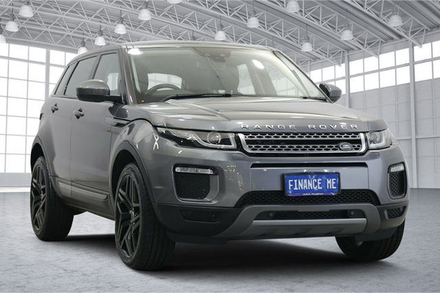 Used Land Rover Range Rover Evoque L538 MY18 TD4 150 SE Victoria Park, 2017 Land Rover Range Rover Evoque L538 MY18 TD4 150 SE Grey 9 Speed Sports Automatic Wagon