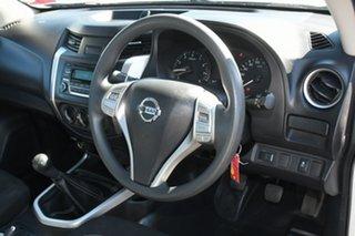 2015 Nissan Navara D23 DX 4x2 White 6 Speed Manual Cab Chassis