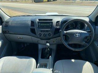 2007 Toyota Hilux KUN16R MY07 SR 4x2 White 5 Speed Manual Utility