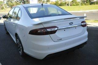 2016 Ford Falcon FG X XR6 White 6 Speed Sports Automatic Sedan.