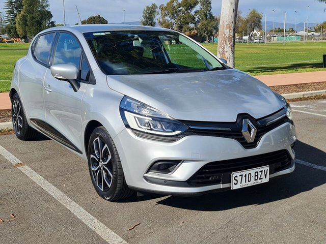 Used Renault Clio IV B98 Phase 2 Zen EDC Nailsworth, 2017 Renault Clio IV B98 Phase 2 Zen EDC Silver 6 Speed Sports Automatic Dual Clutch Hatchback
