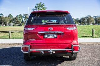 2017 Toyota Tarago ACR50R GLi Red 7 Speed Constant Variable Wagon