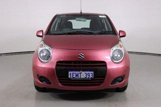 2014 Suzuki Alto GF MY12 GL Pink 4 Speed Automatic Hatchback.