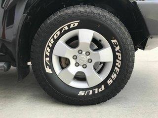 2011 Nissan Navara D40 S6 MY12 ST Black 5 Speed Sports Automatic Utility
