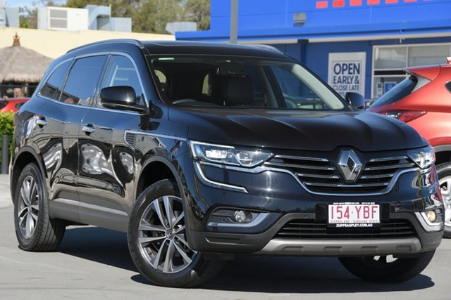 Used Renault Koleos HZG Initiale X-tronic Aspley, 2018 Renault Koleos HZG Initiale X-tronic Black 1 Speed Constant Variable Wagon