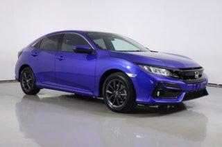 2020 Honda Civic MY20 VTi-S Blue Continuous Variable Hatchback.
