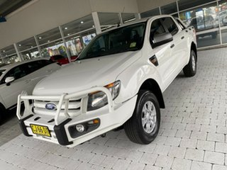 2013 Ford Ranger XL White Manual Double Cab Pick Up.