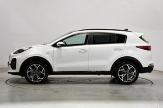 2020 Kia Sportage QL MY21 GT-Line AWD White Pearl 6 Speed Sports Automatic Wagon.