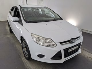 2012 Ford Focus LW MkII Ambiente White 5 Speed Manual Sedan.