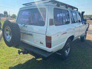 1983 Toyota Landcruiser HJ60 Deluxe White 5 Speed Manual Wagon