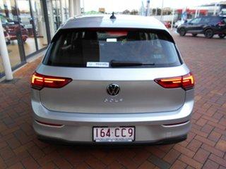 2021 Volkswagen Golf 8 MY21 110TSI Life Reflex Silver 8 Speed Sports Automatic Hatchback