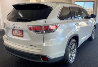 2016 Toyota Kluger GSU50R Grande 2WD Pearl White 8 Speed Sports Automatic Wagon.