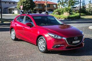 2018 Mazda 3 BN5478 Maxx SKYACTIV-Drive Sport Red 6 Speed Sports Automatic Hatchback.